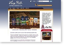 Leroy Hill Coffee Website Design